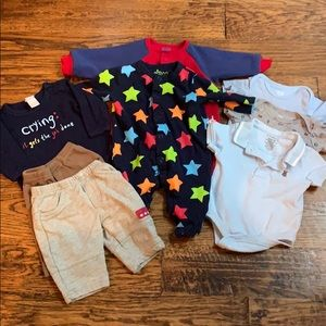 Baby boy clothing lot: Carter's, Circo, and George